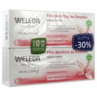 Веледа зубная паста Ратания (Weleda) 2x75 ml