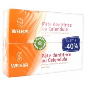 Купить Веледа зубная паста календула (Weleda) 2x75 ml из категории Уход за полостью рта